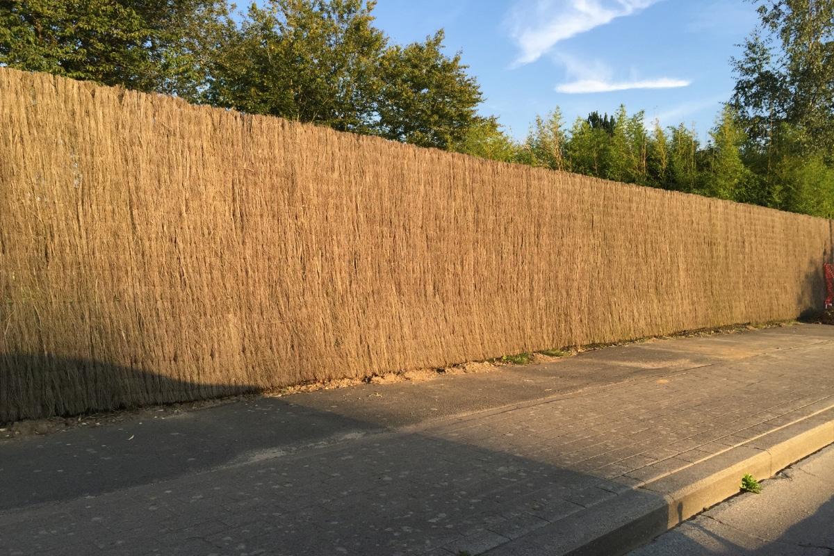 geluidswerende tuinschermen